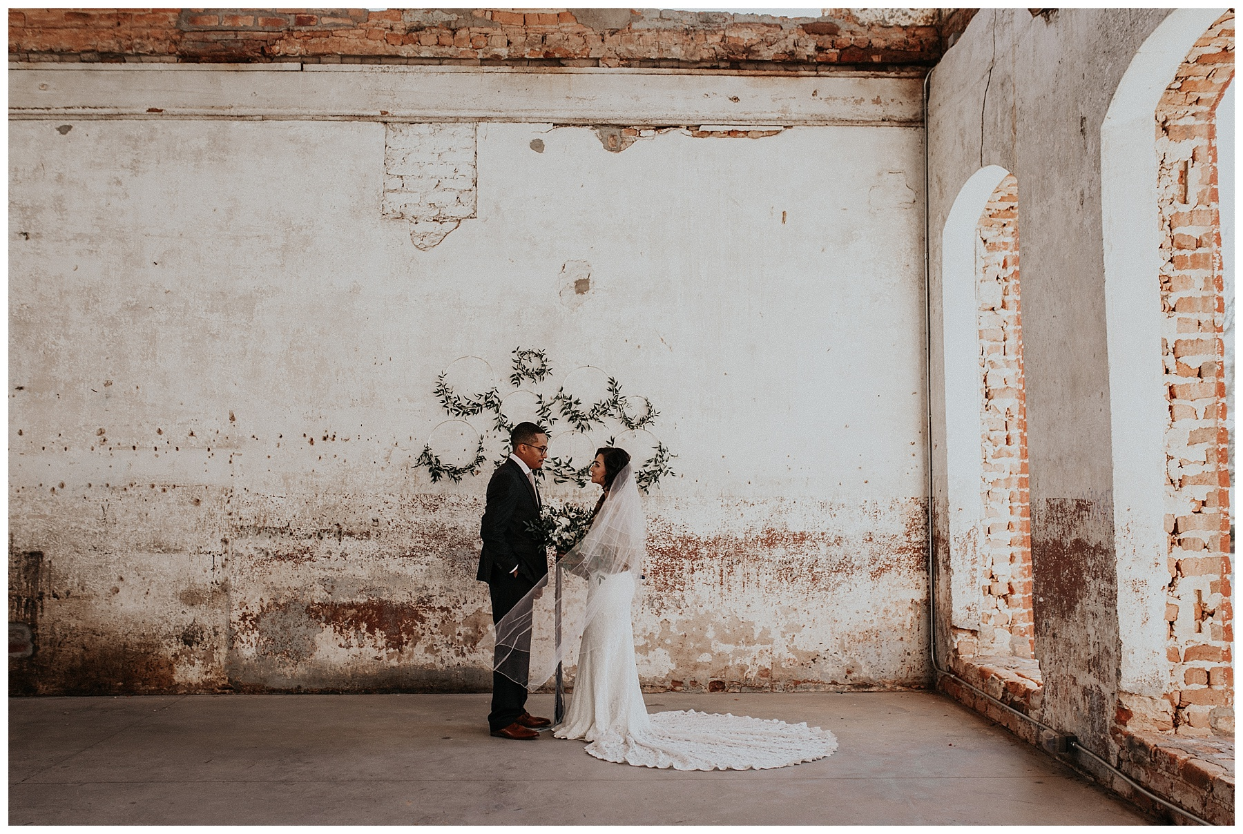 The Providence Cotton Mill Wedding