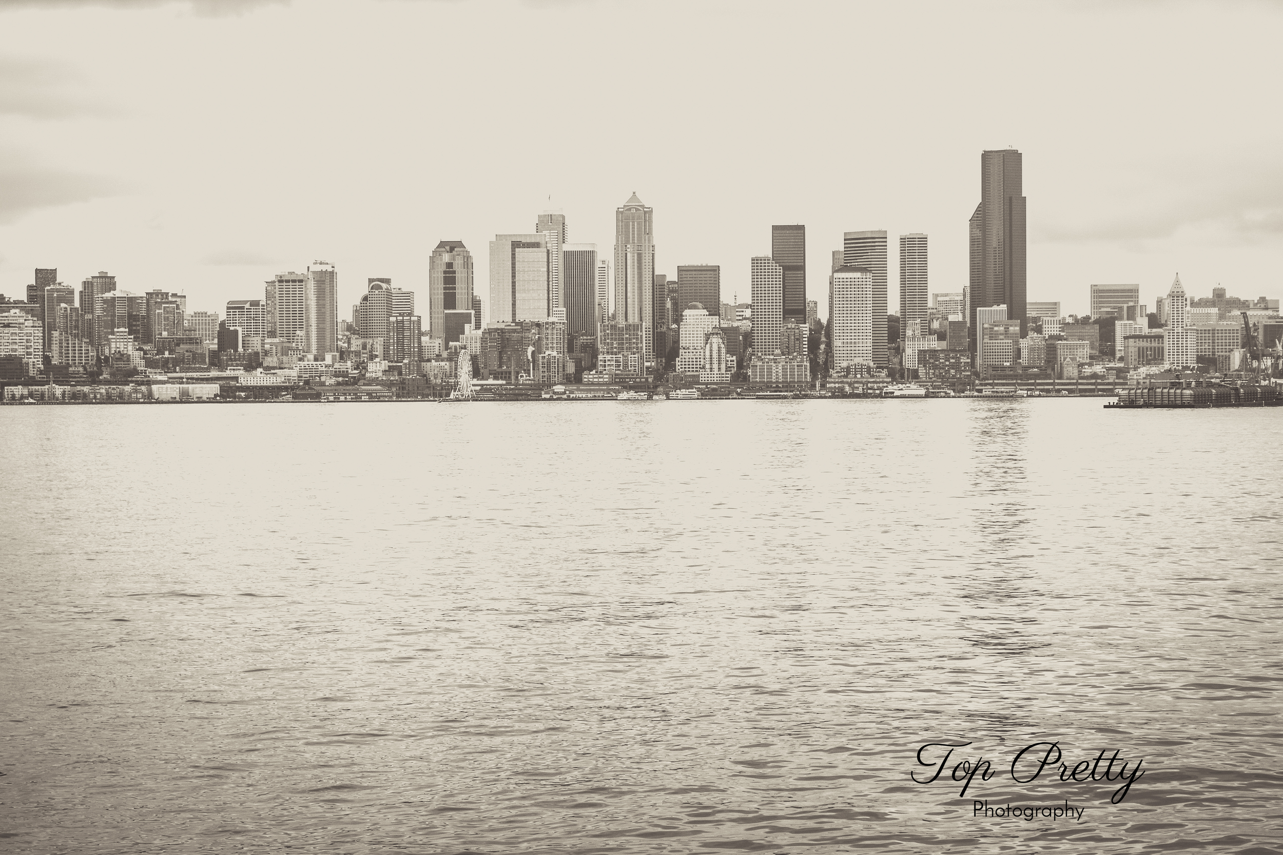 The Seattle skyline