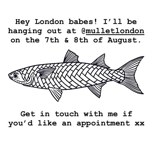 I'll be in London hanging with my pals at @mulletlondon in August. Hit me up if you'd like a hairdo 💇‍♀️💁‍♂️😘 #mulletlondon #melbournehairdresser