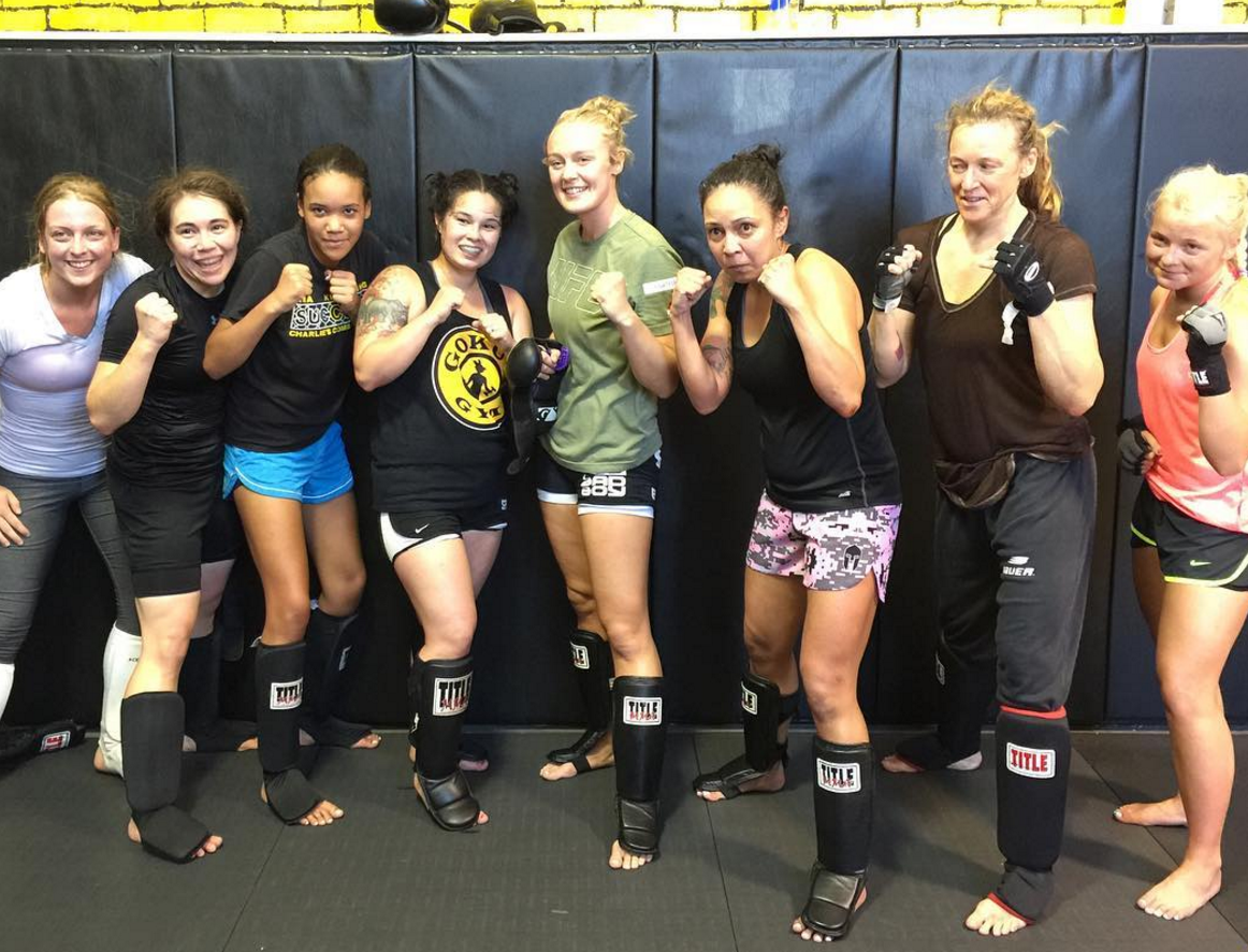 Tuesday 7pm Ladies only sparring