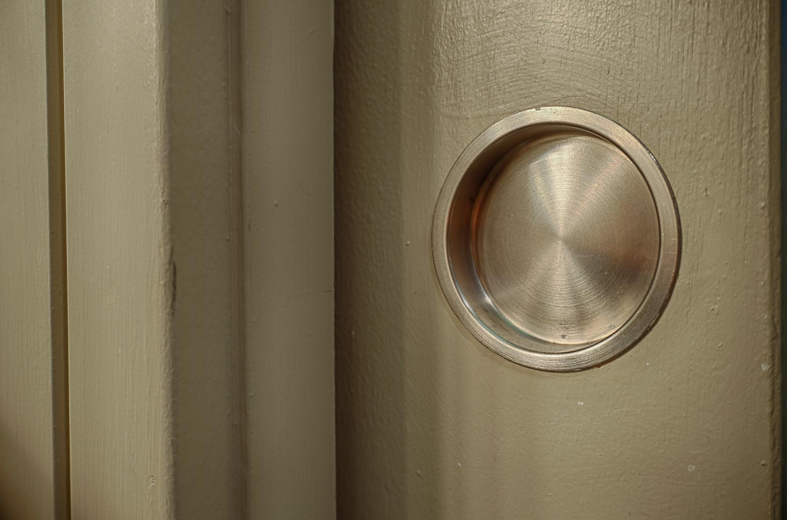 Pocket doors . . .