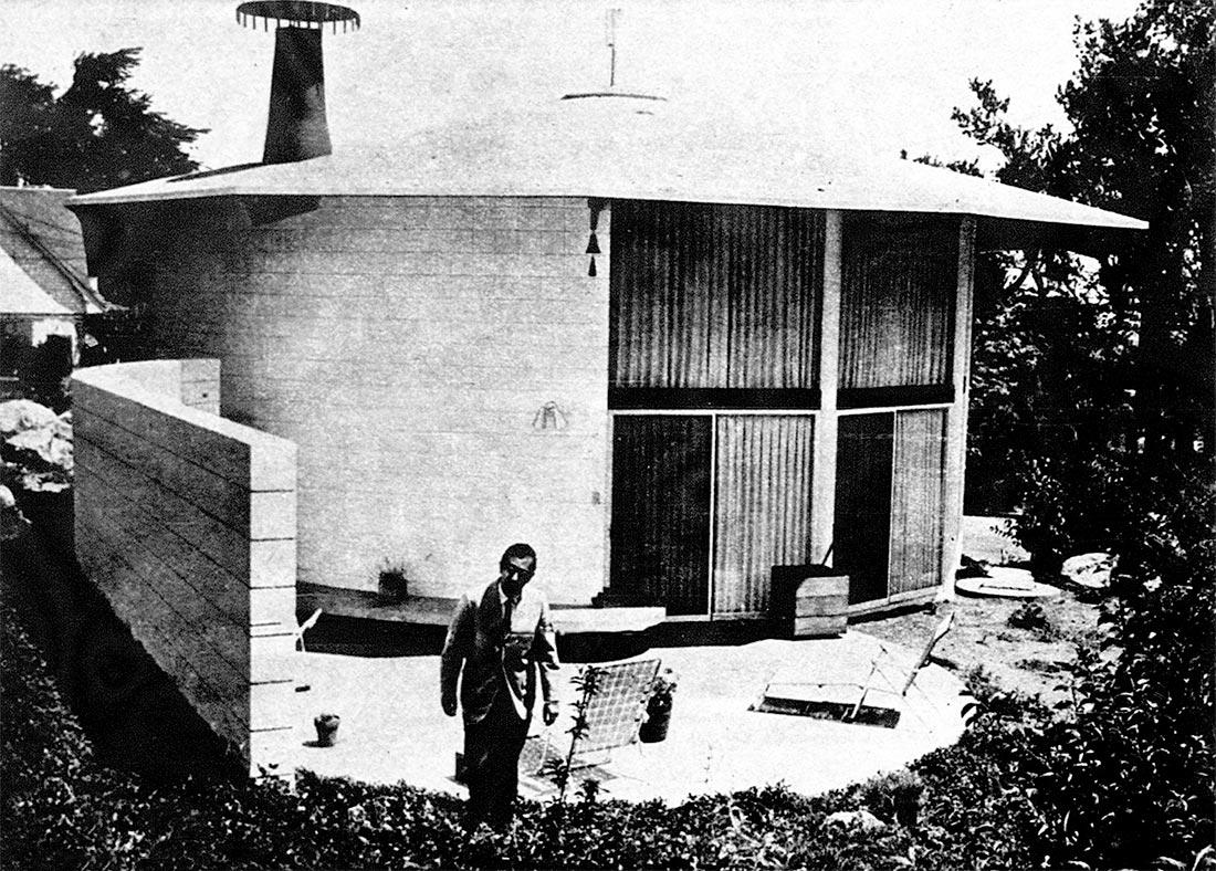 Jessor House. Photo by Albert Moldvay. The Denver Post, 1961