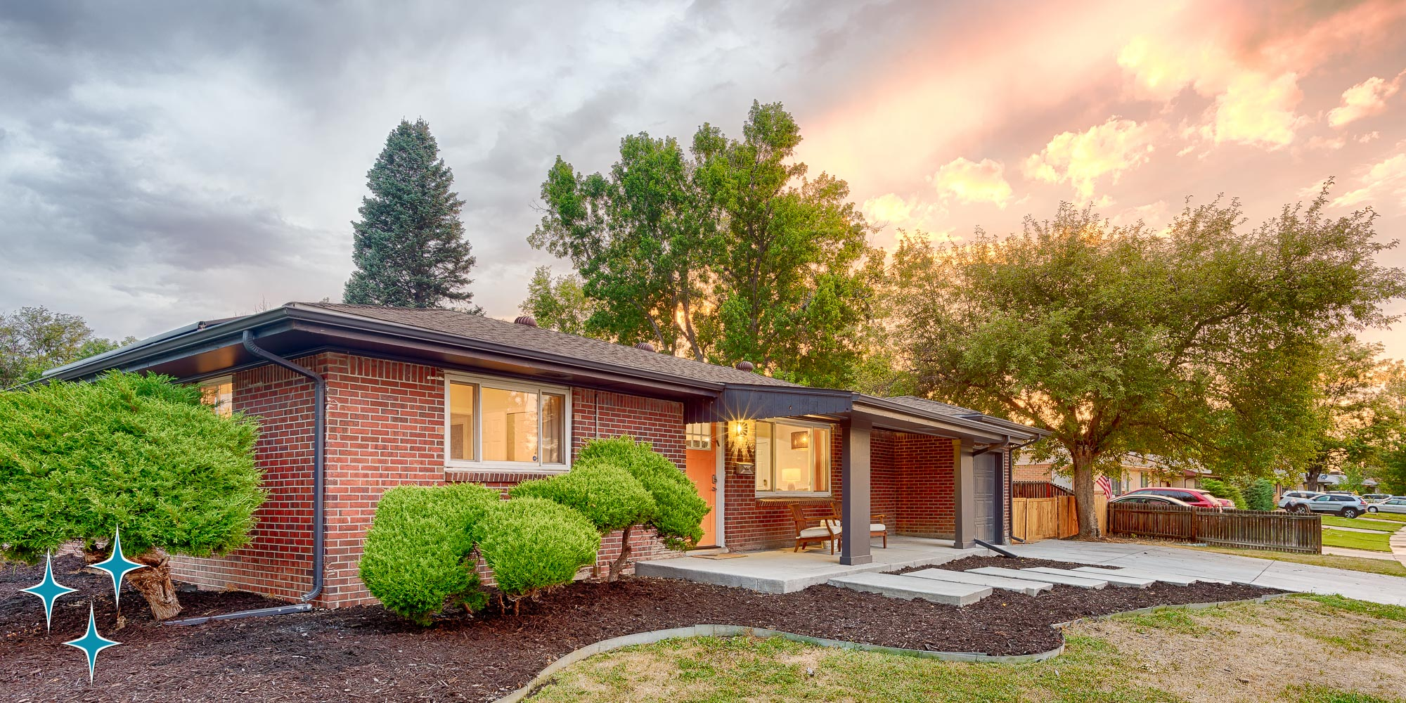 All-Brick Mid-Century Charmerin Harvey Park -