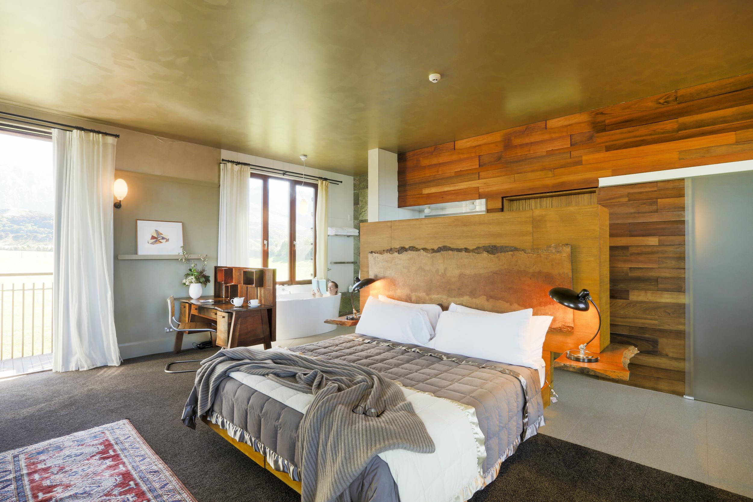 An open floor plan, the light filled Hapuku Room feels expansive.