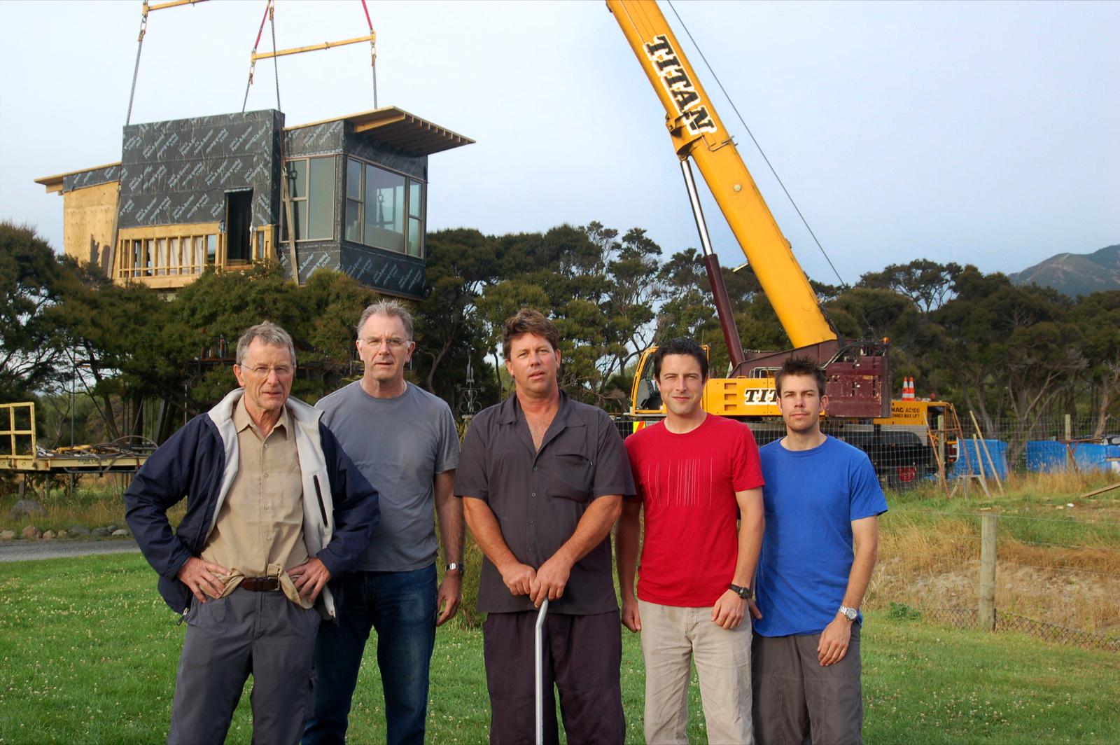 TONY, PETER, PAUL, JUSTIN & CHEYNE