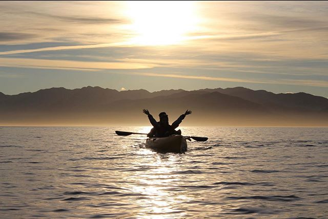 A sunset kayak tour is a must when visiting Kaikoura @seal_kayak_kaikoura