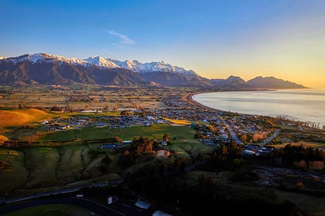 A frosty morning in Kaikoura 📷 @asphotonz