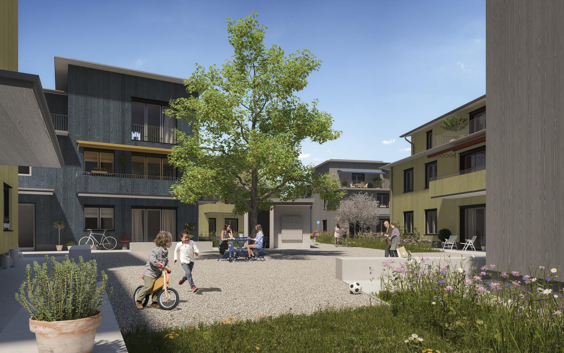BÜCHI LEHNER ARCHITEKTINNEN // Siedlung Rägeboge