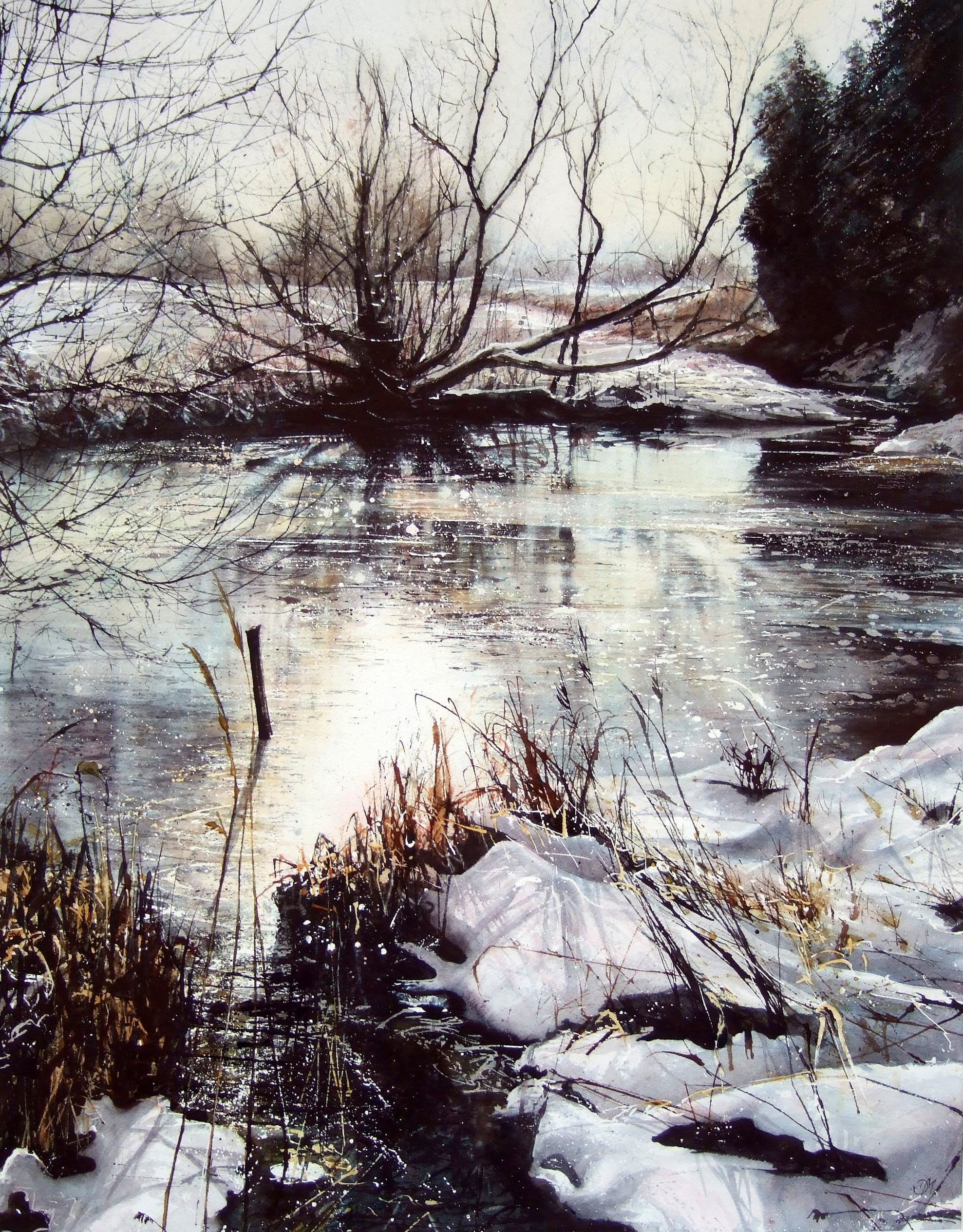 Snow Melts; Floods Rise
