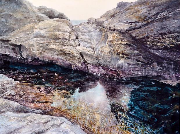 'Tidal Rhythms'  , Deborah Walker RI, Sunday Times Watercolour Competition 2016 Exhibitor
