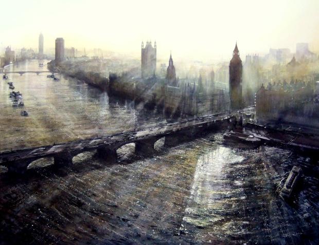 'Corners of the Evening', Deborah Walker RI