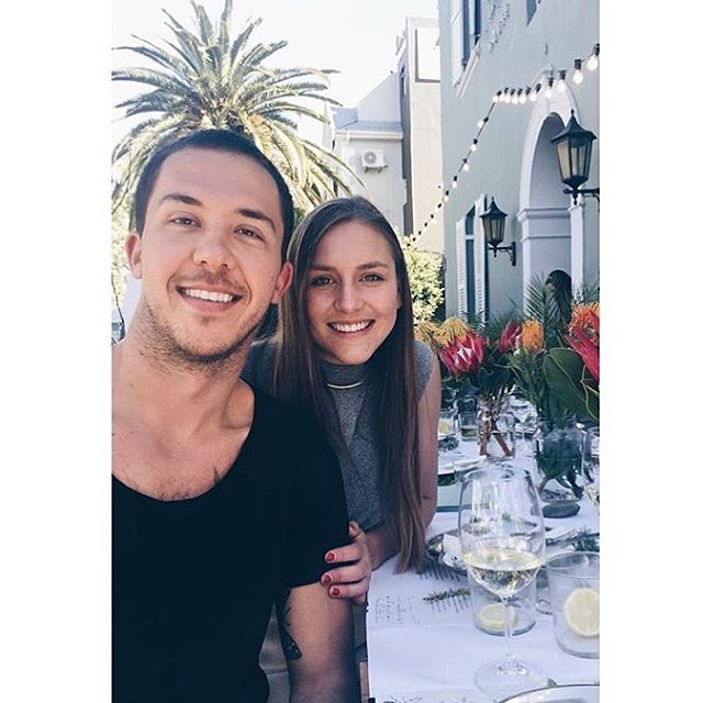 Our friends!  @definitely_maybe_  @savascouvaras #hotel #harpershouse #capetown