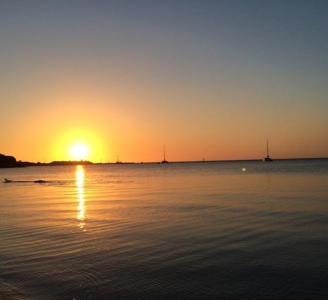 Beach Sunsets during the Mornington Retreats