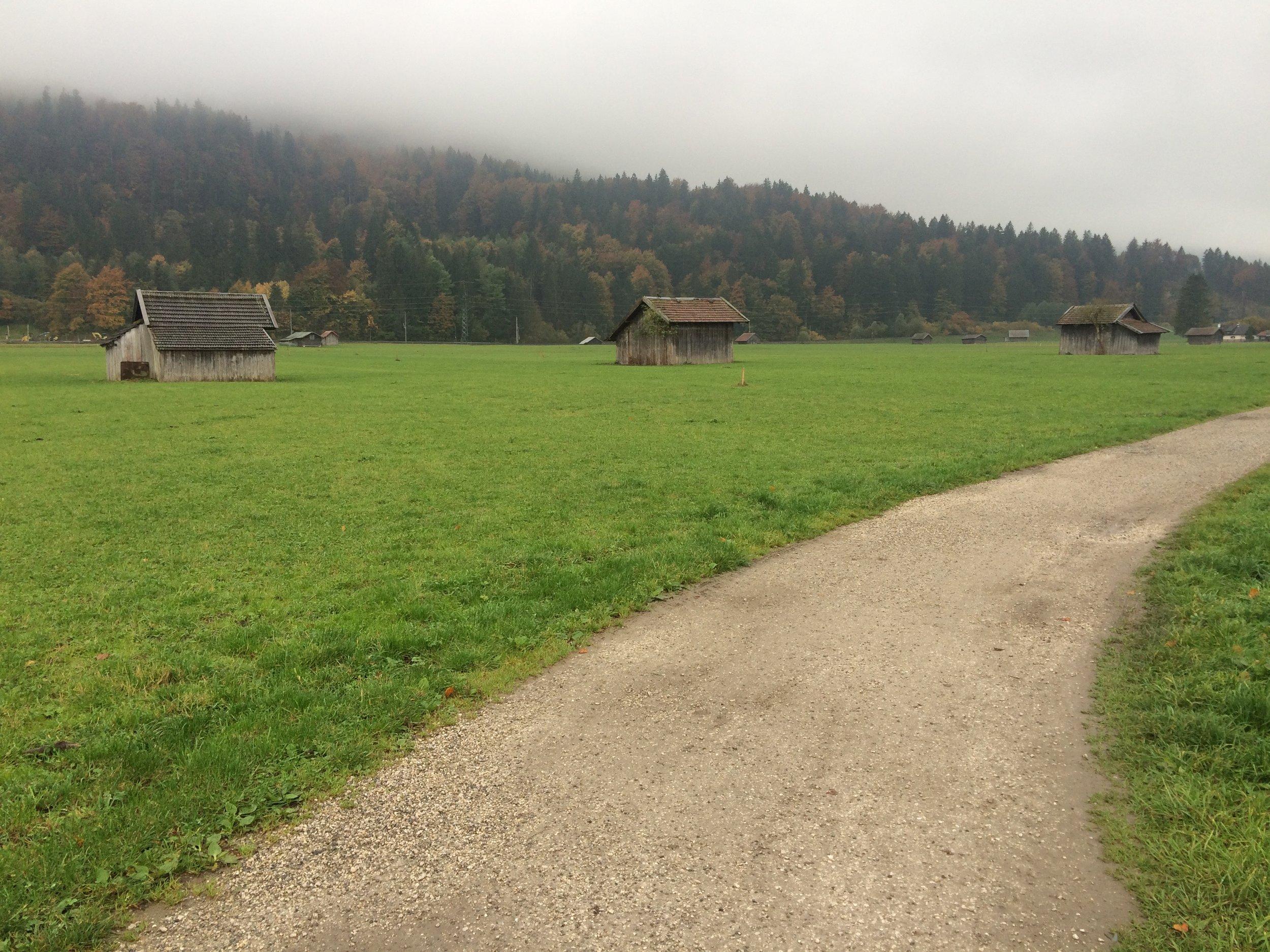 Garmisch-Partenkirchen, Germany --October 2015