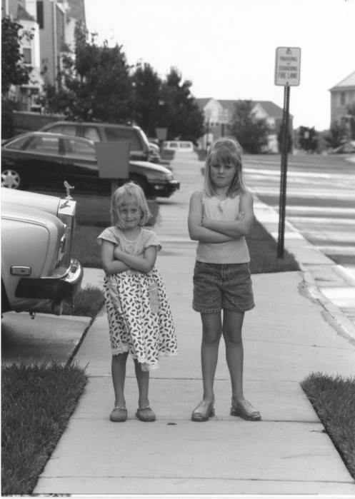 My sister and I.1999 -