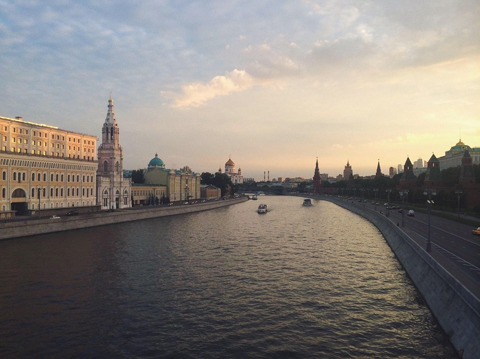 Moscow, Russia -  August 2015