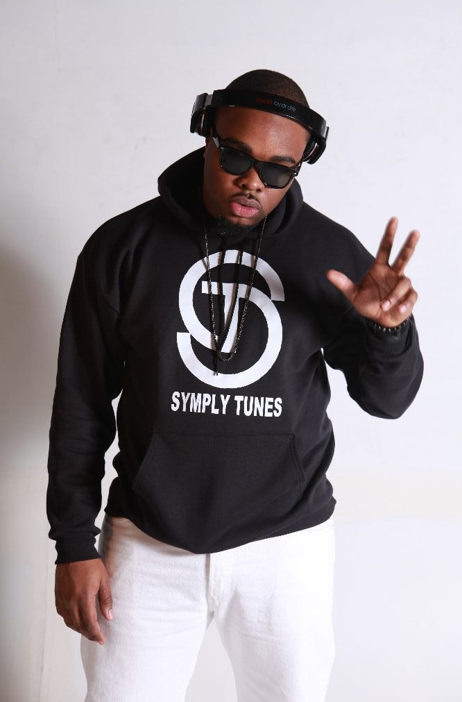 03. Symply Tunes Black & White Pull Over Hoodie.JPG