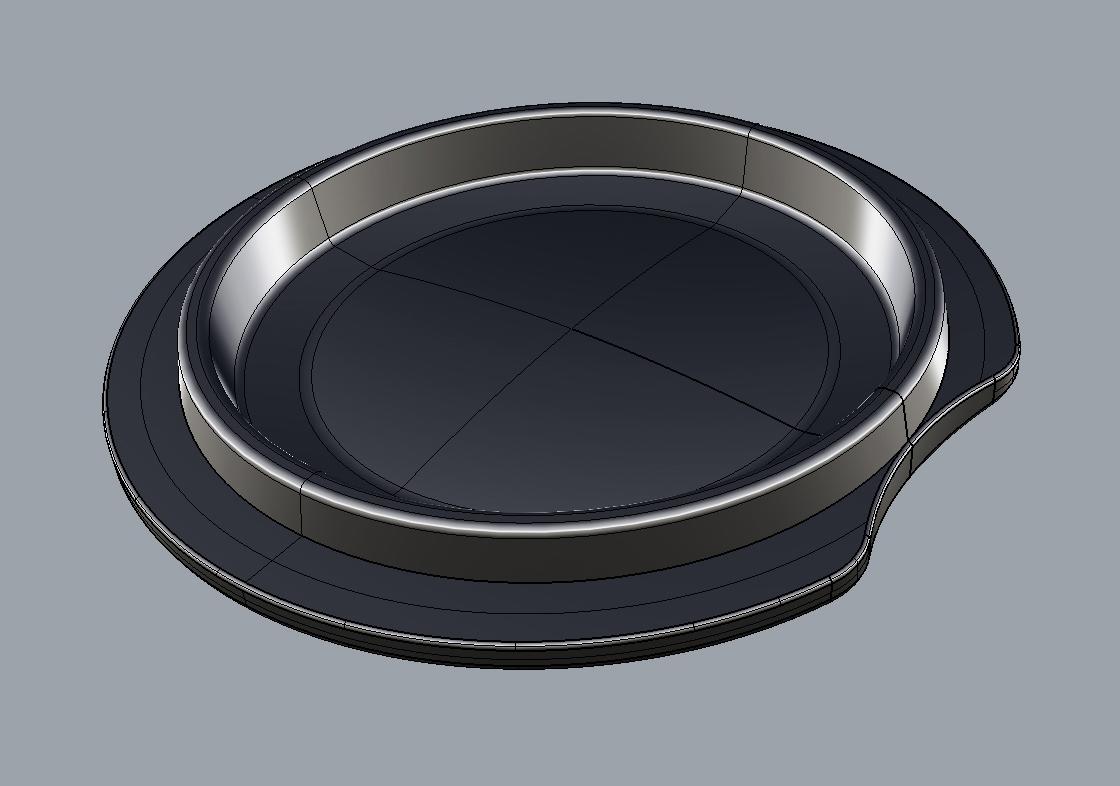Copy of 3D CAD model of a ceramic TEAPY®
