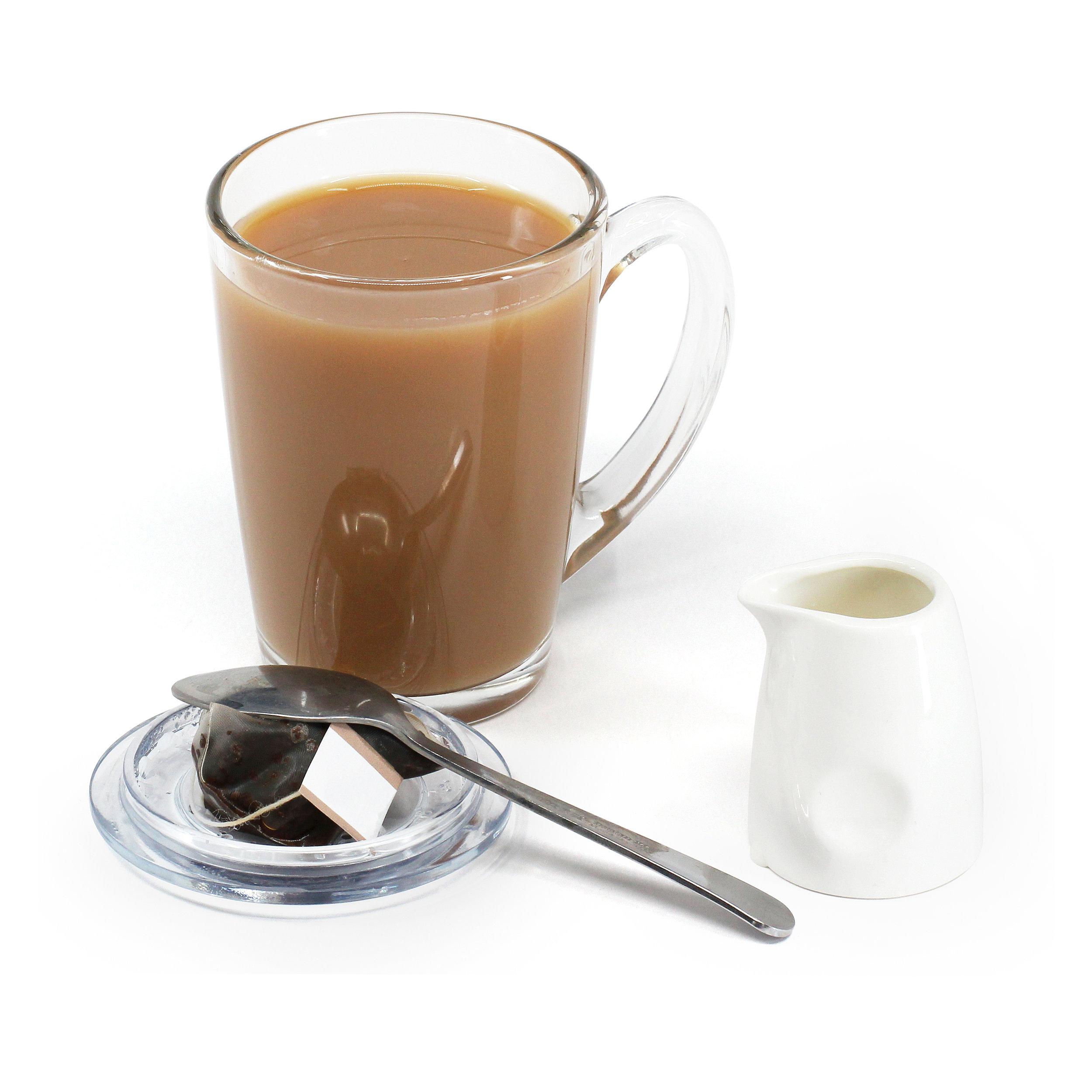 TEAPY® T-4-1™ | Glass Mug | Ceramic Jug | Spoon