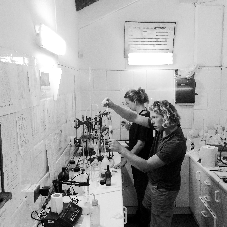 Veel te interessant doen in het laboratorium.