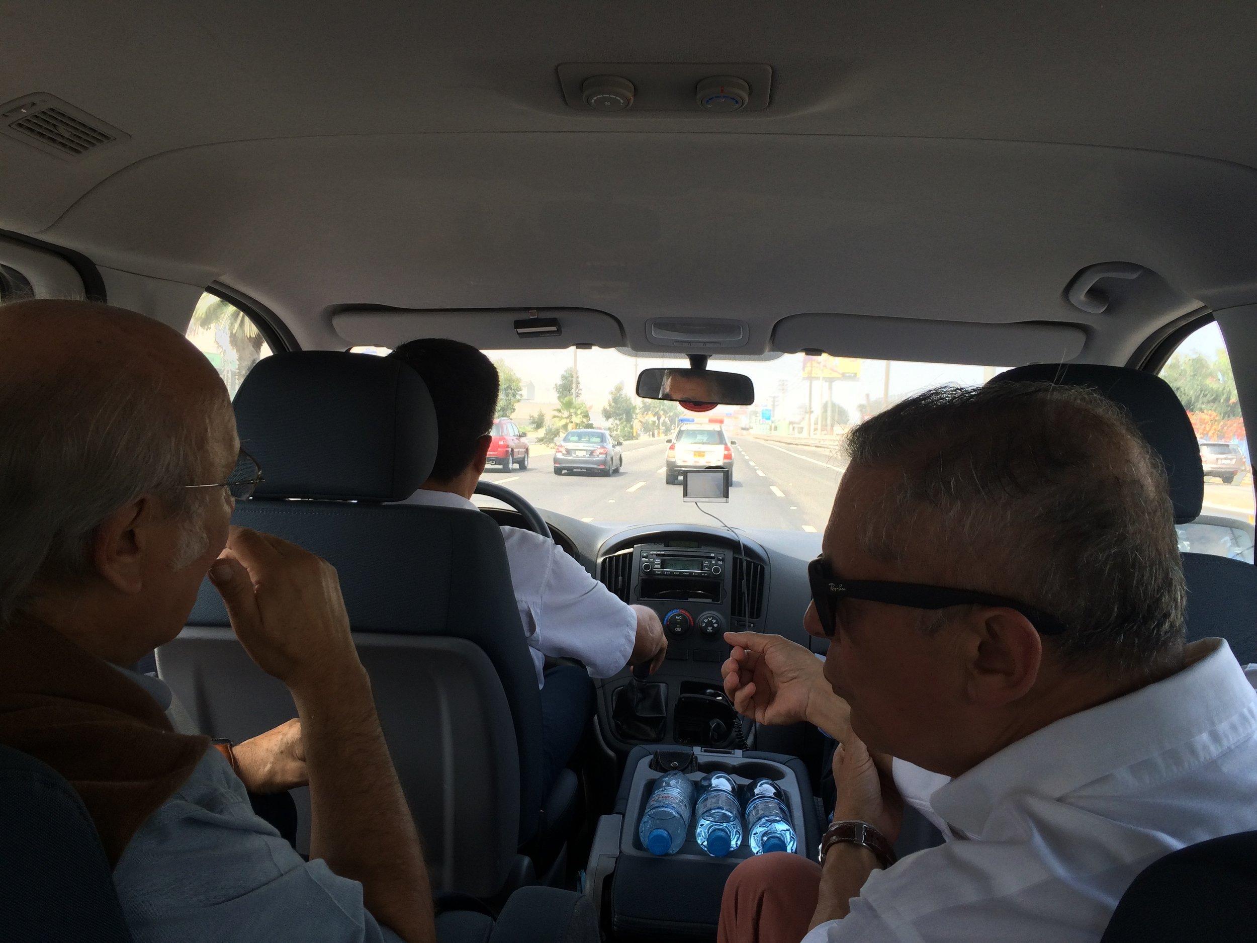 onderweg met escort