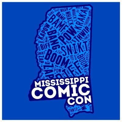 MS Comic Con LOGO.