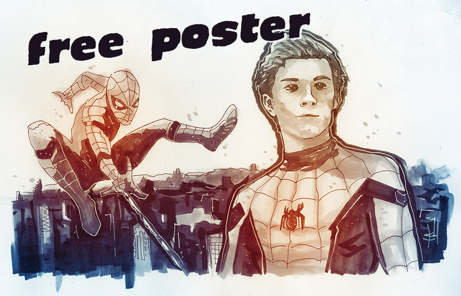 """The real poster won't say """"FREE POSTER"""" on it. Pretty cool, right?"""