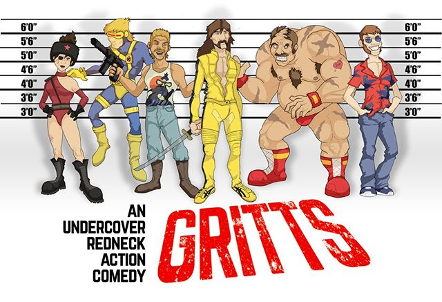 My Undercover Redneck #comicbook is on @kickstarter right now! LINK IN BIO @sperocomics @sperotoys Ends this Friday! Pledge today! #comics #giftideas #80s #90s #gijoe #theateam #graphicnovel #kickstarter #crowdfunding #indiecomics #cyberdeals #fun #comedy #reading #nyccomiccon #comic #comicbooks #art #instaart #blackandwhitecomics #rednecks #giftidea #forhim #payitforward #supportindiecomics #usualsupects