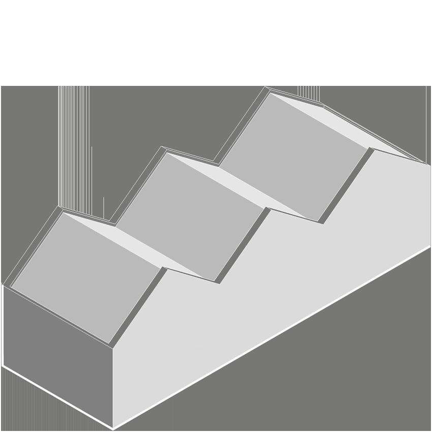 CABU Dual Pitch Roof