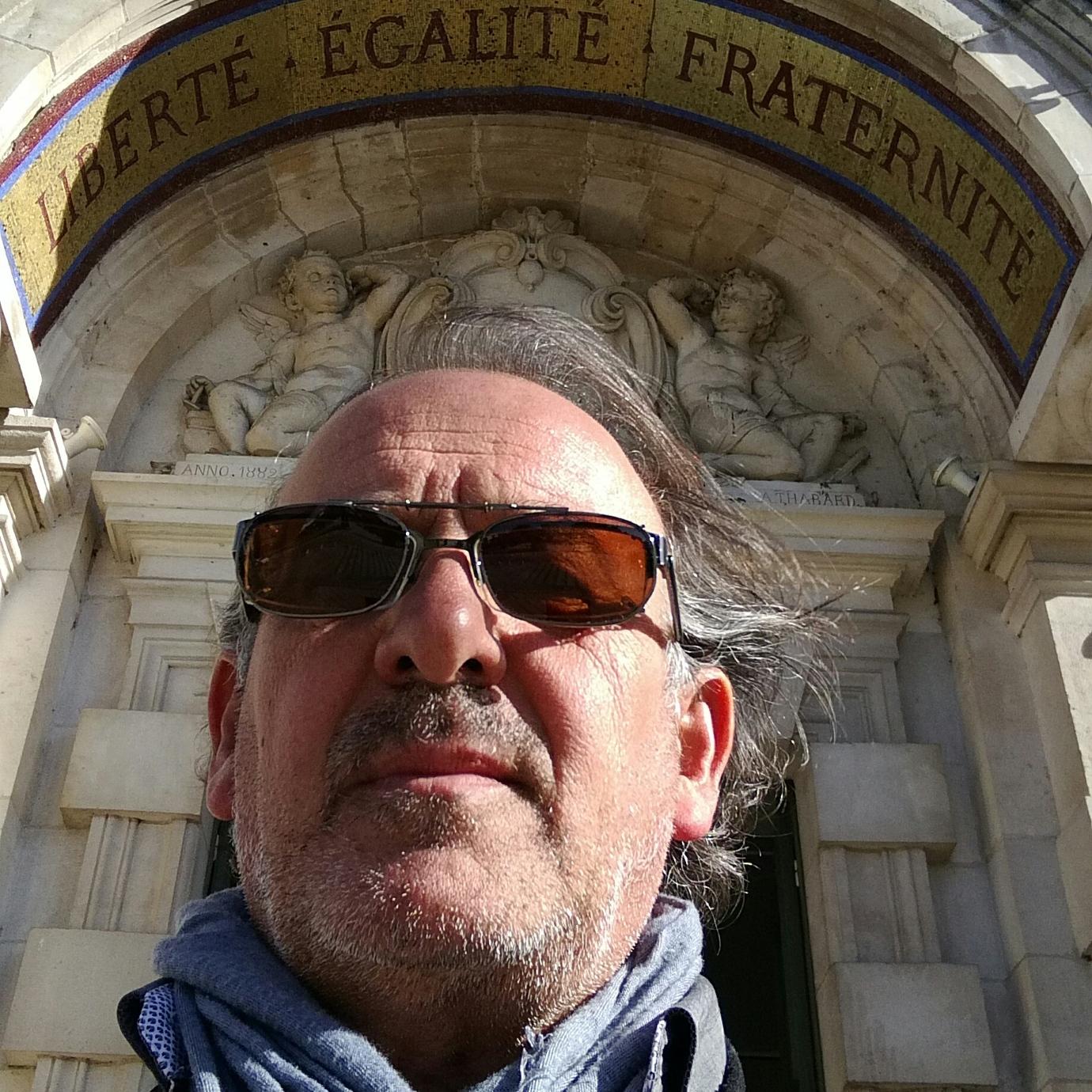 Jean Paul Sportiello - Bénévole.Chargé de communication et relations presseJournaliste.Artiste plasticien à ses heures