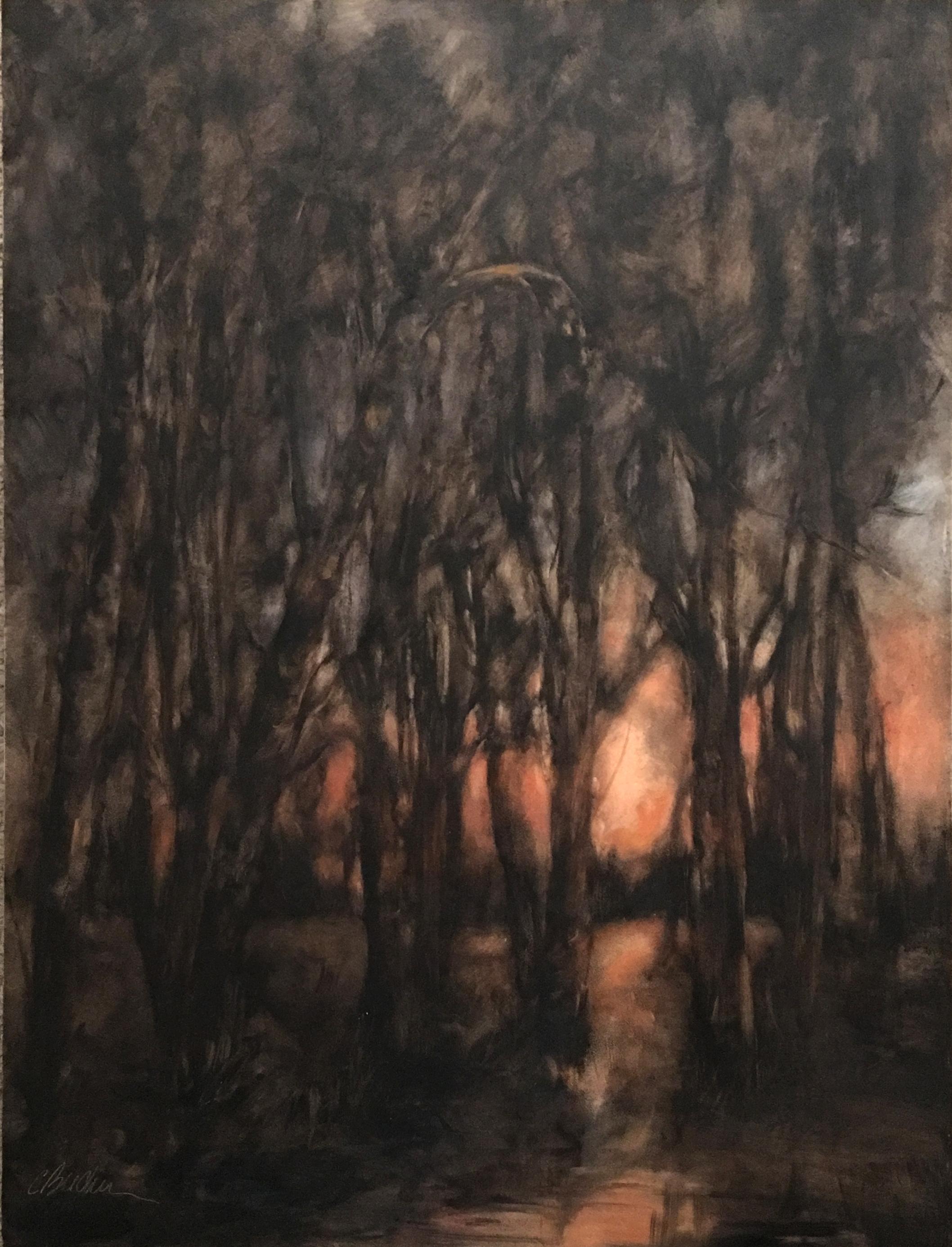Twilights Glow    Oil on panel    2016
