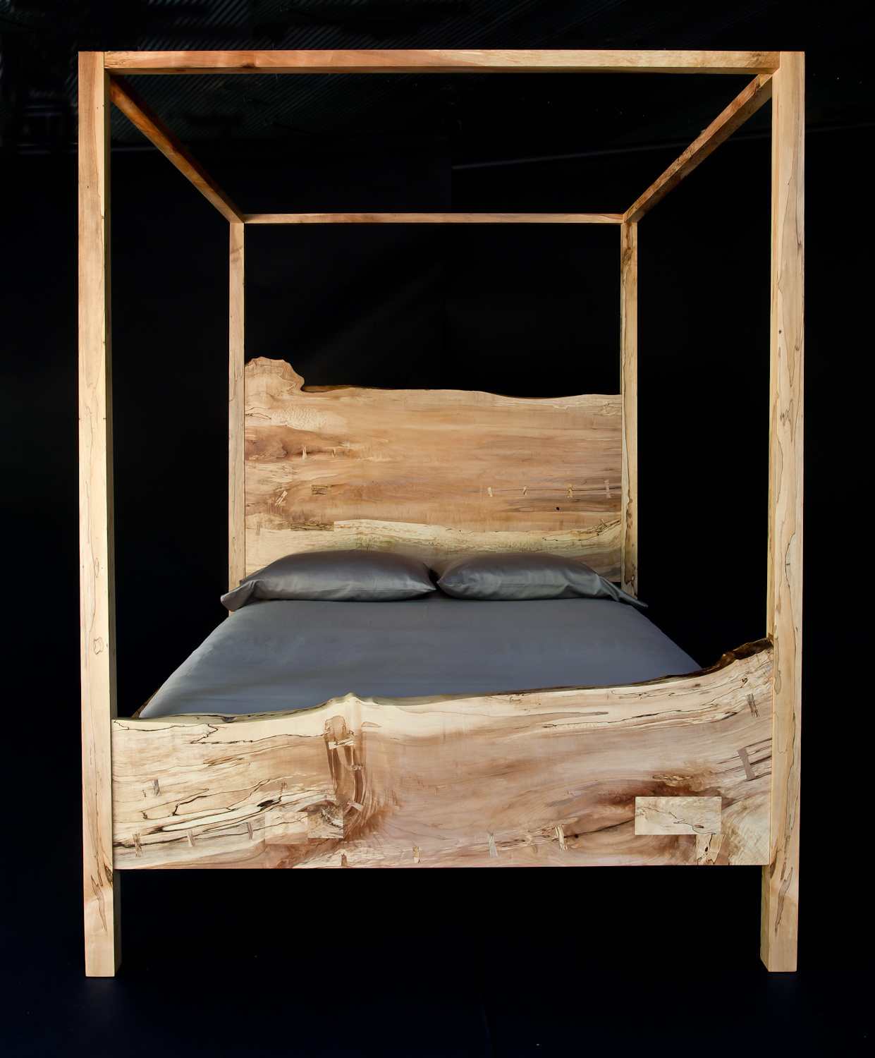 TRACE_Canopy Bed_Spalted Maple.jpg
