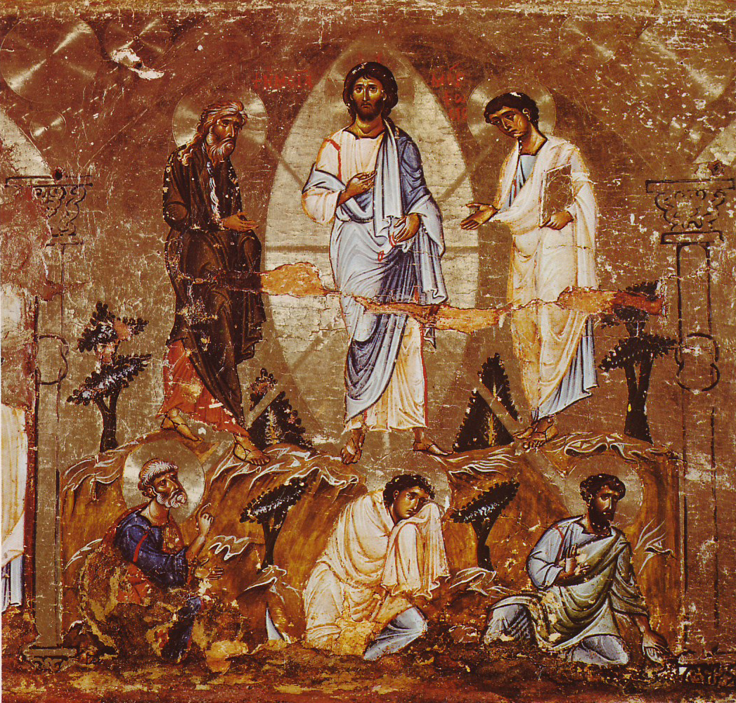 The Transfiguration of Christ: Part of an iconostasis in Constantinople style. Middle of the 12th century.