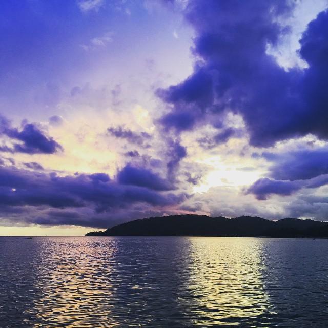 View from Universiti Malaysia, Sabah
