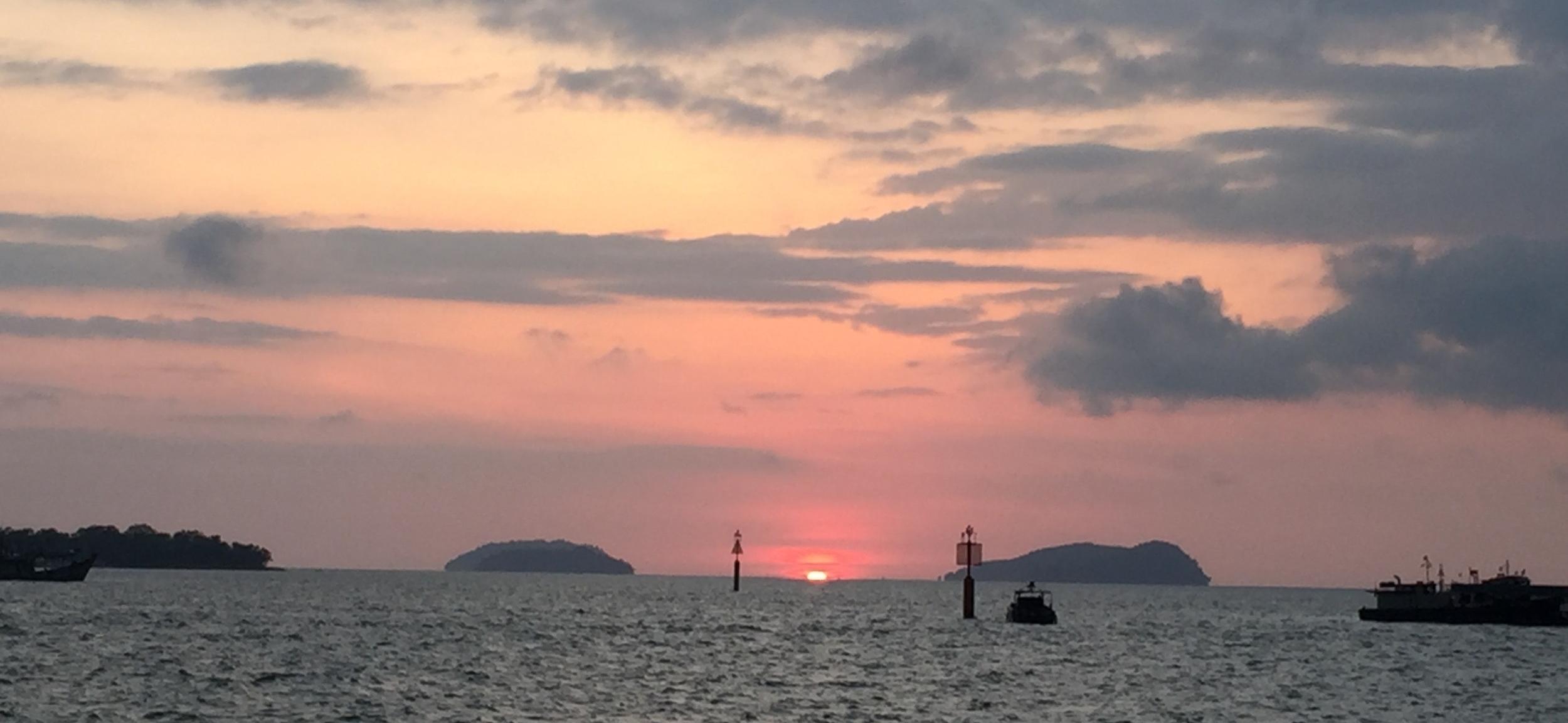 Kota Kinablau sunset