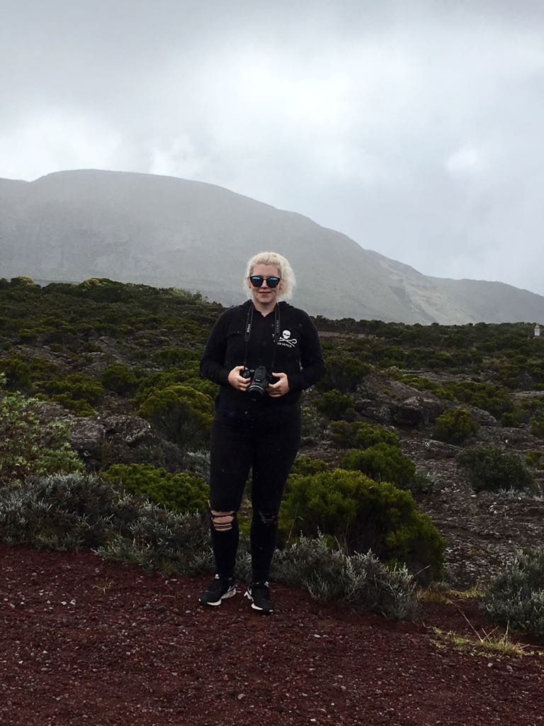 Walking around Piton de la Fournaise