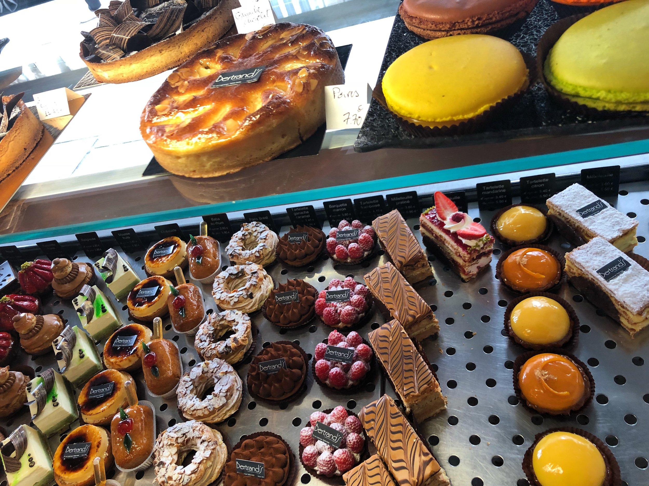 Obligatory pastries
