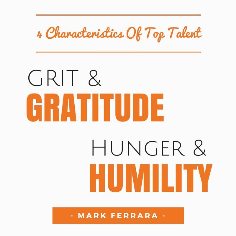 EDGE Mentoring - Grit & Gratitude. Hunger & Humilty