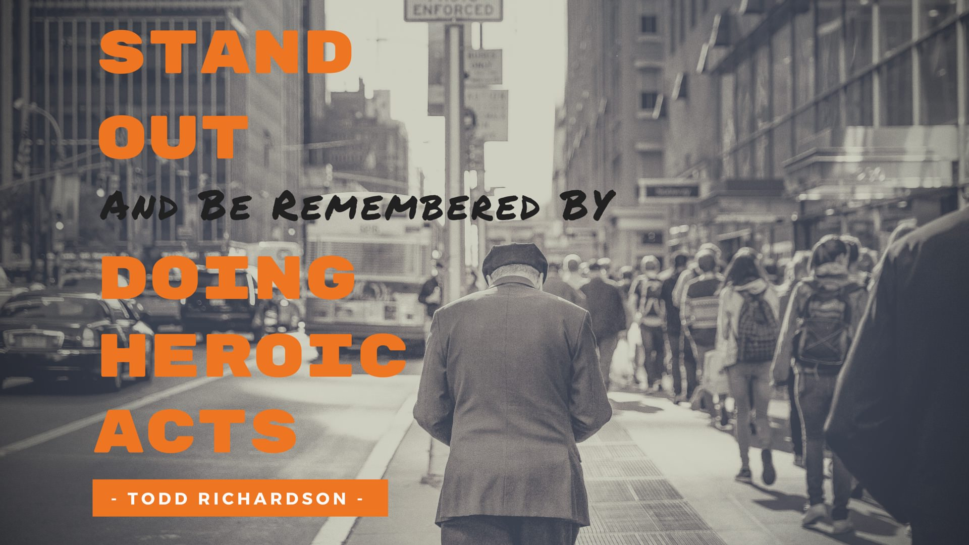 EDGE Mentoring - Millennial Advice: Stand Out By Doing Heroic Acts