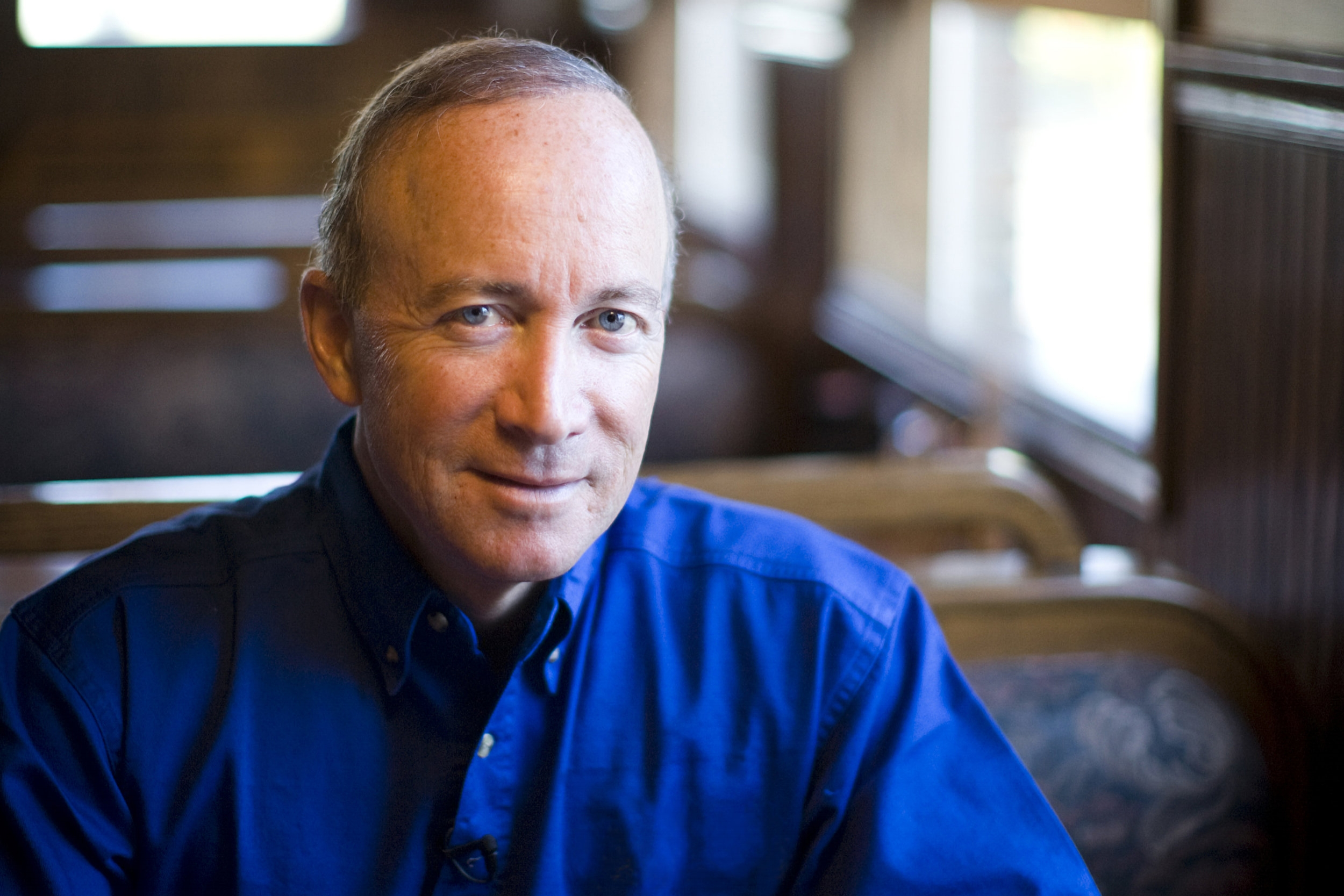 Mitch Daniels - 12th president of Purdue UniversityFormer governor of Indiana