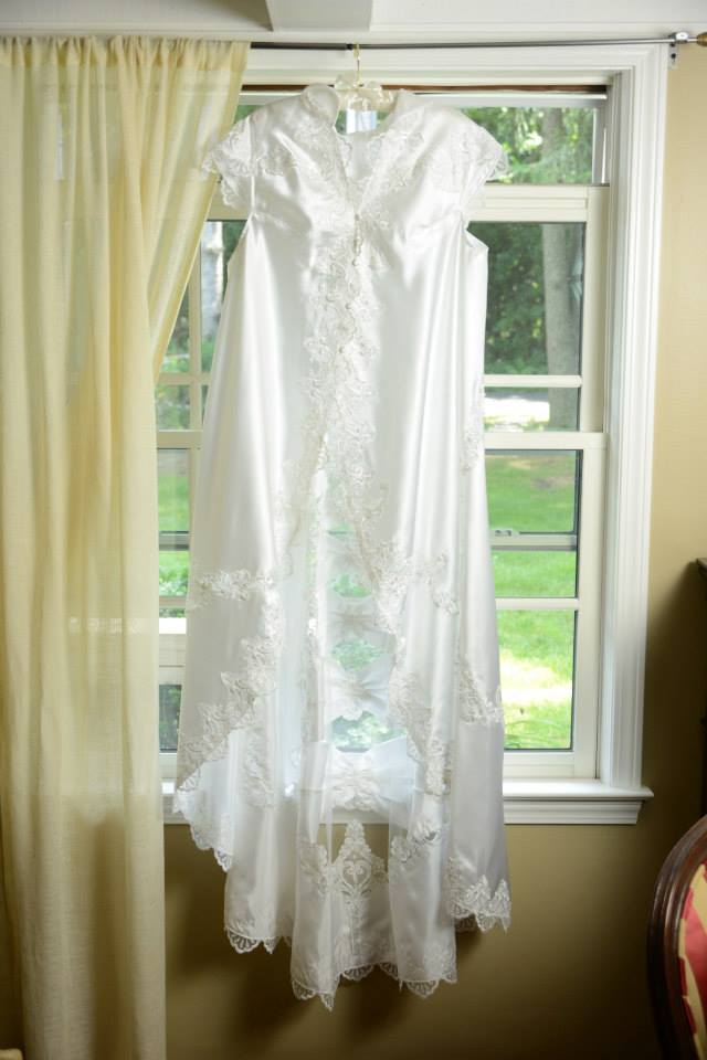 Bridal jacket hanging in the window good pic.jpg