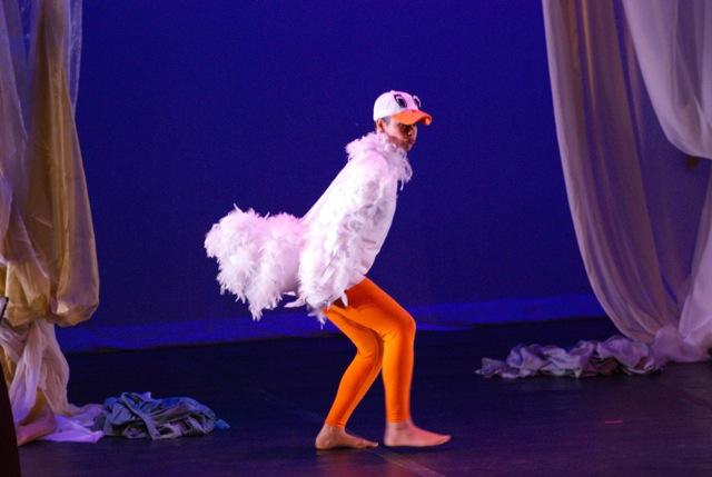 Jennifer Beauchamp as the Goose.