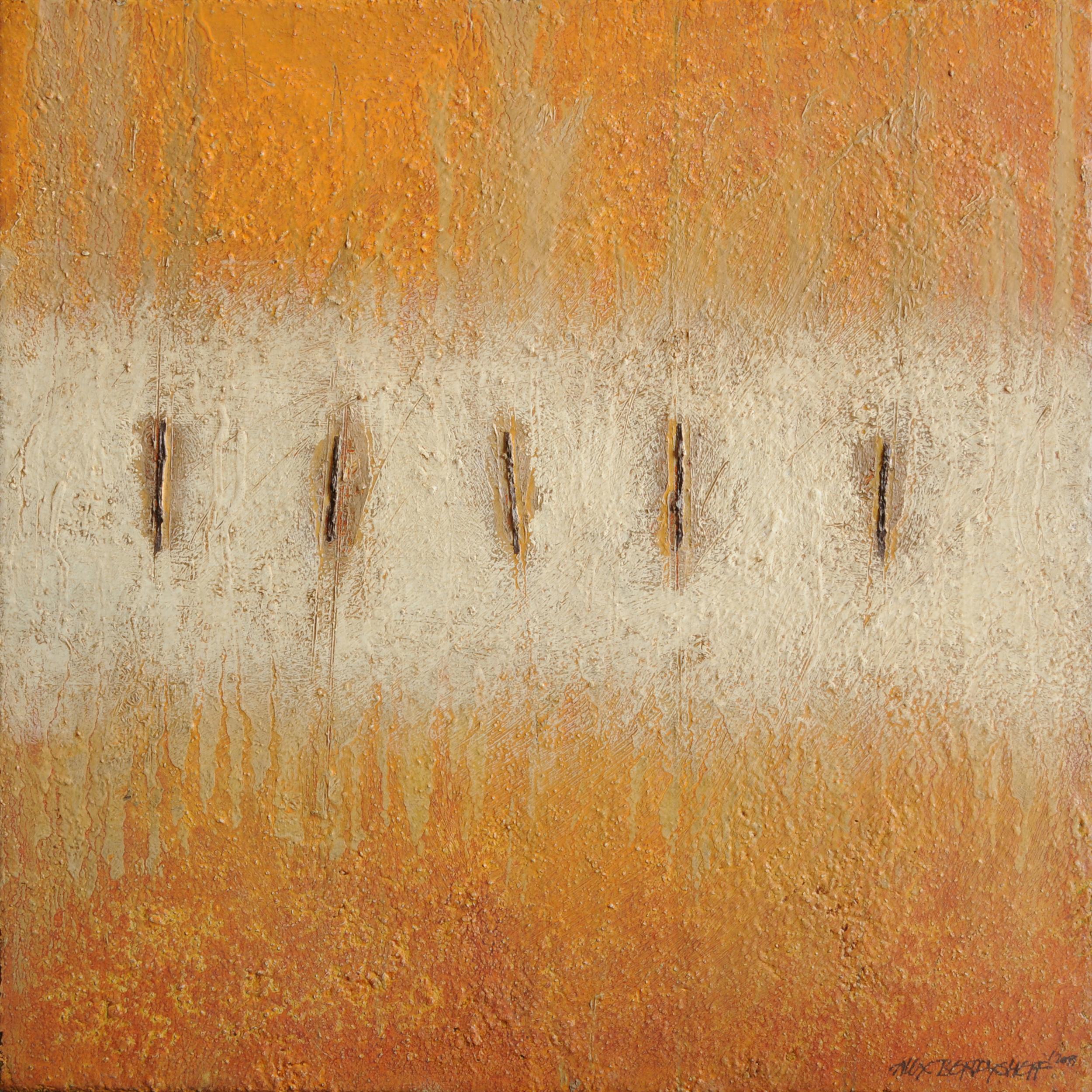 Terra III, oil on canvas, 46x46 cm, 2011