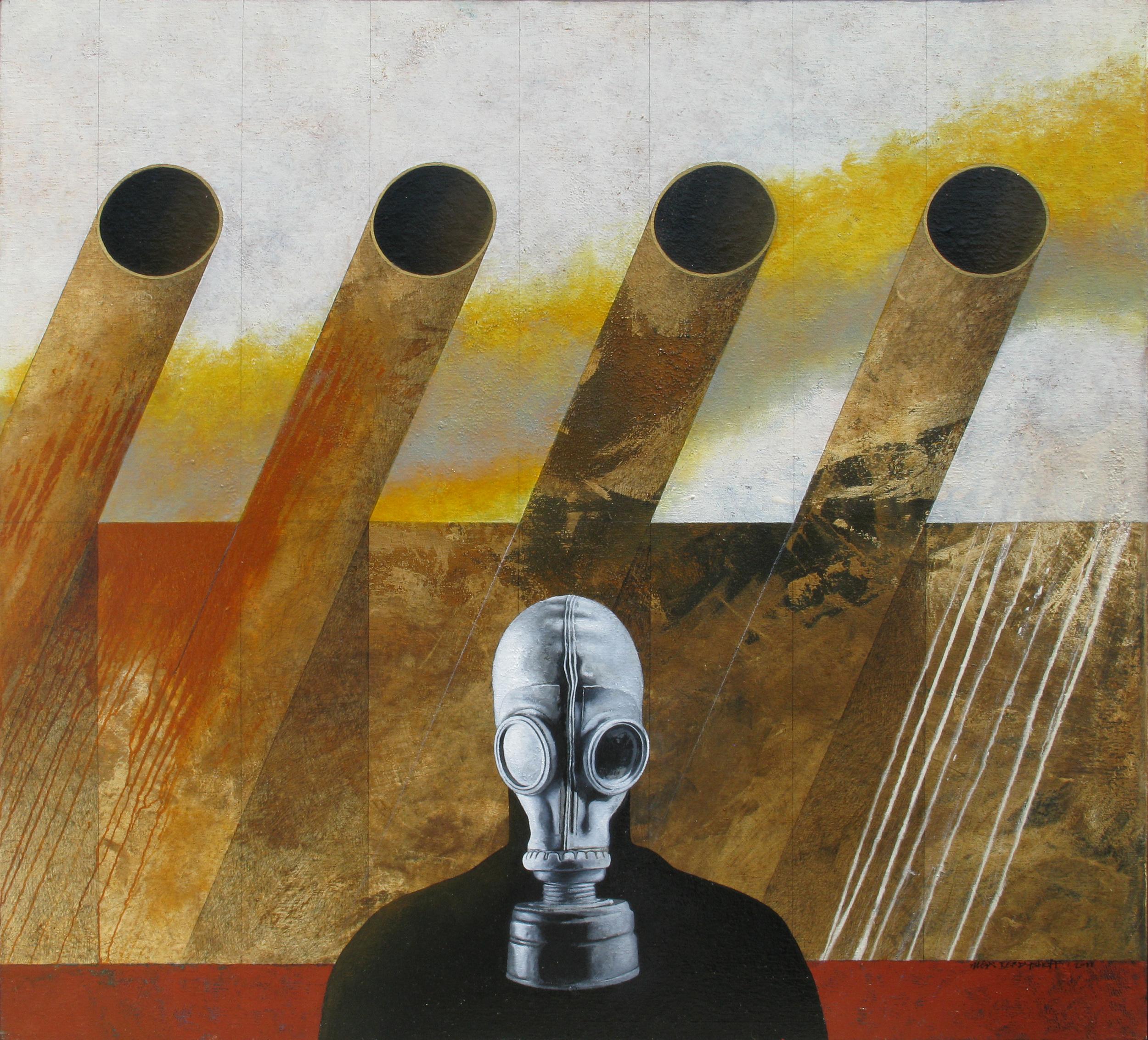 Ultima Ratio, oil on canvas, 110x120 cm, 2011