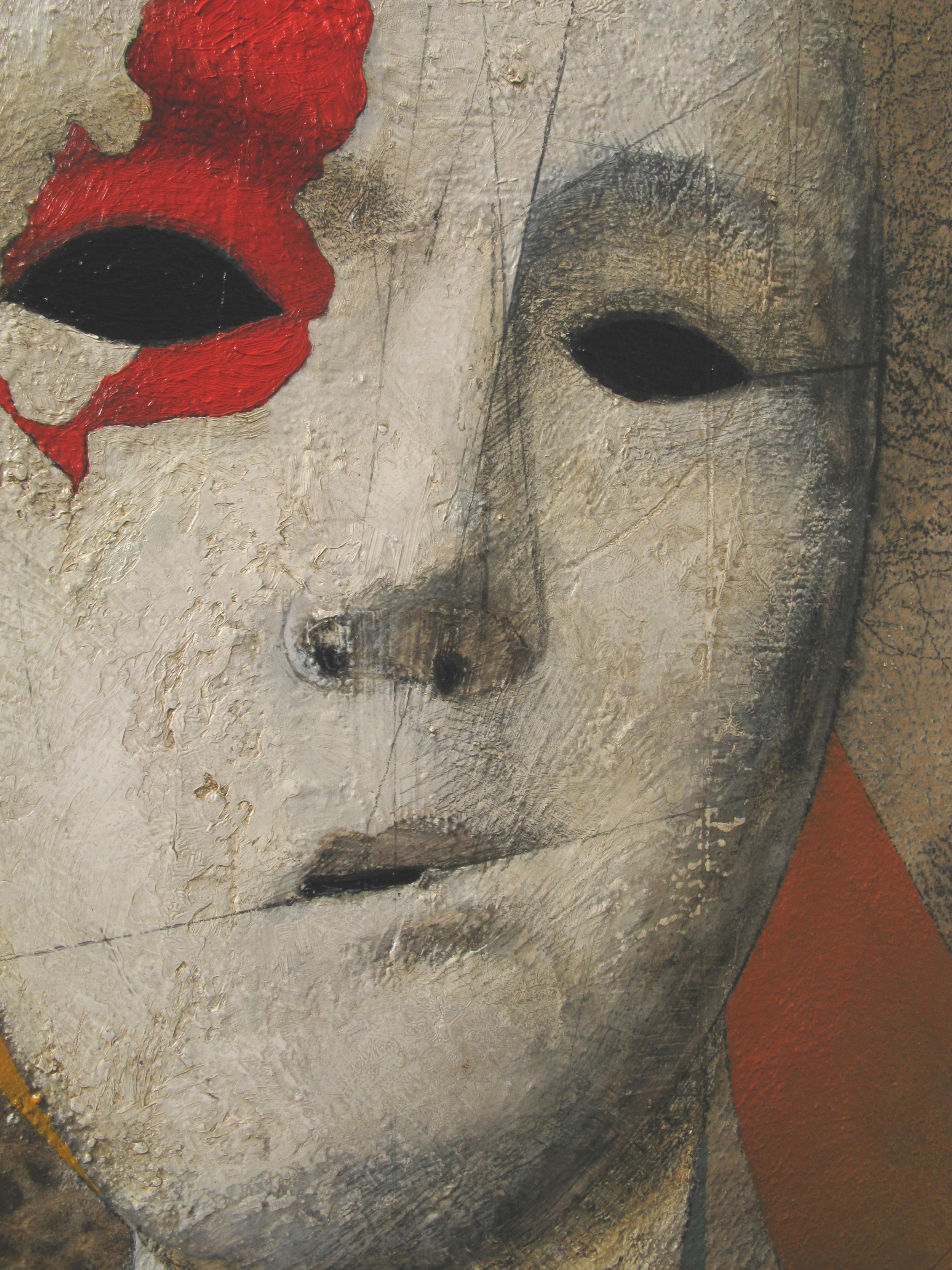 Vox Populi (detail), oil on canvas, 85x85 cm, 2011