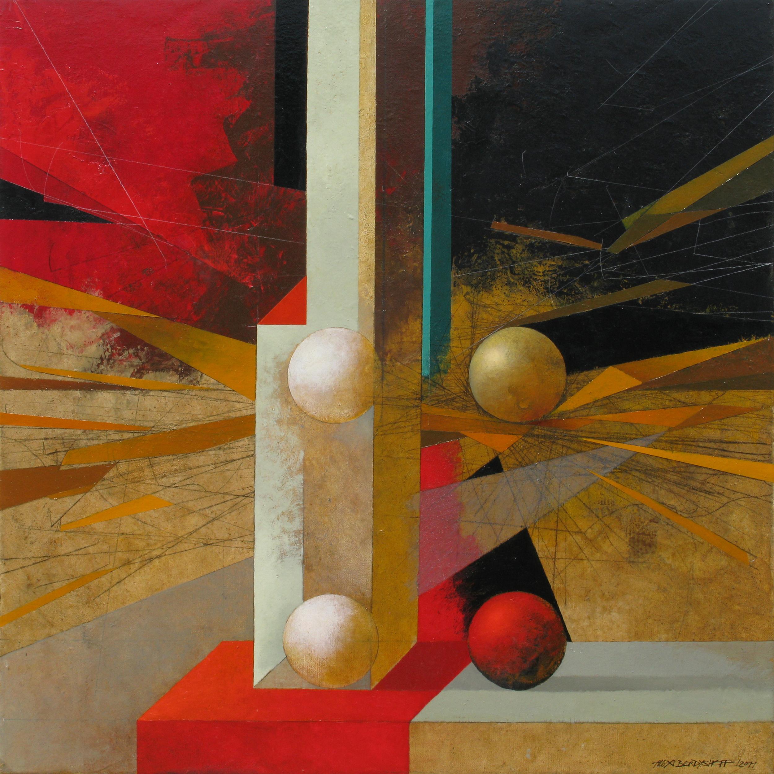 Metaphysical Still-life, oil on canvas, 85x85 cm, 2011