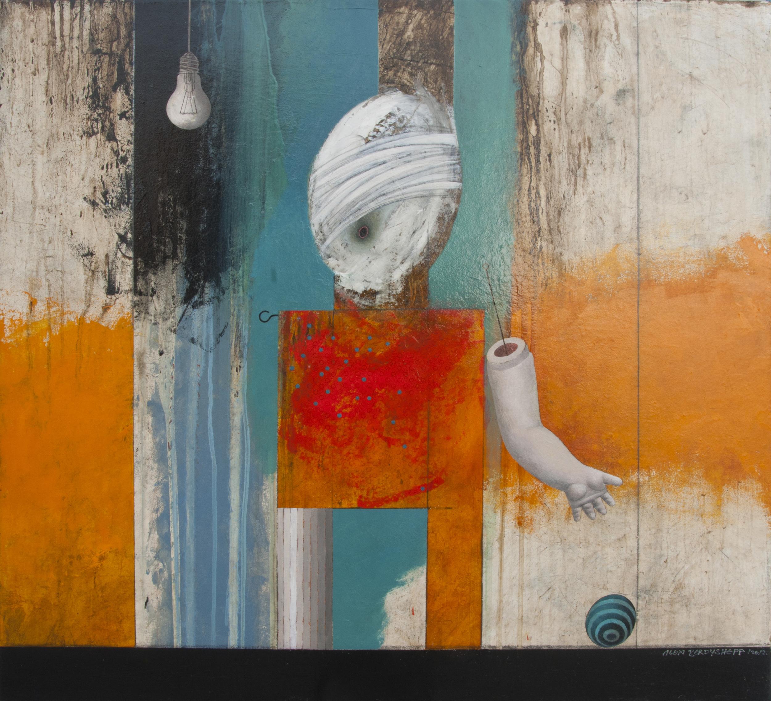 Doll, oil on canvas, 72x78 cm, 2012