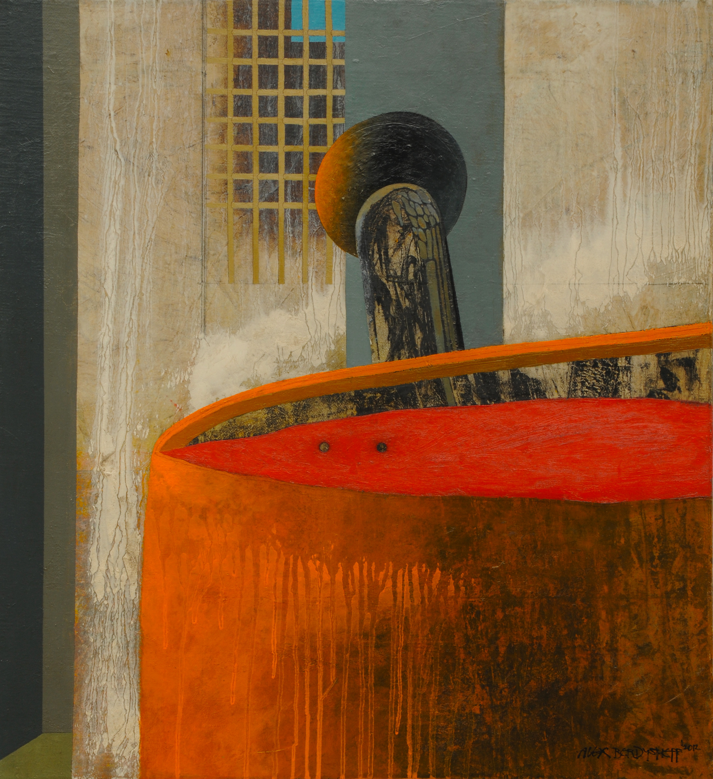 Prison Break, oil on canvas, 60x55 cm, 2012