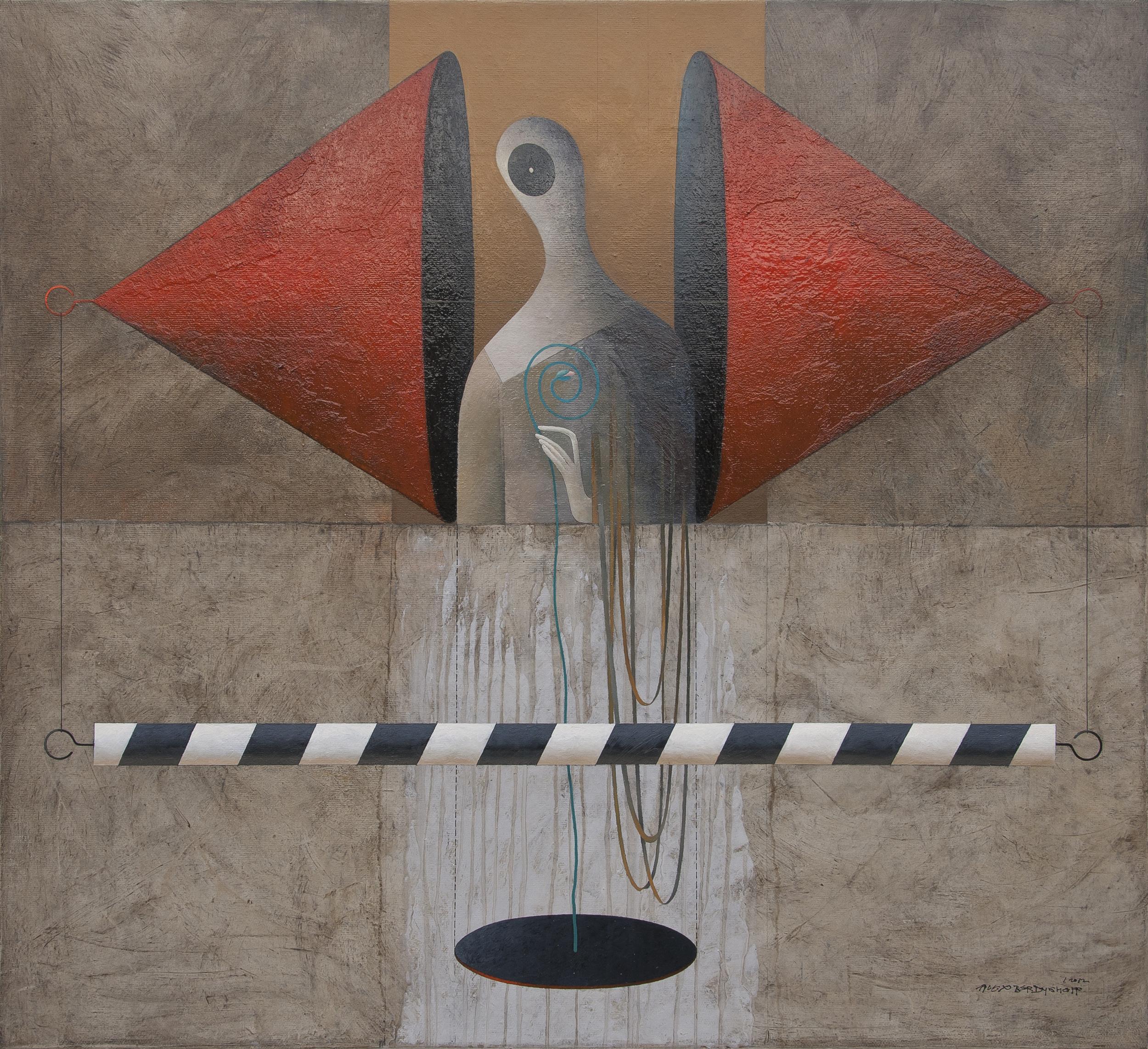 Meditation, oil on canvas, 120x110 cm, 2012