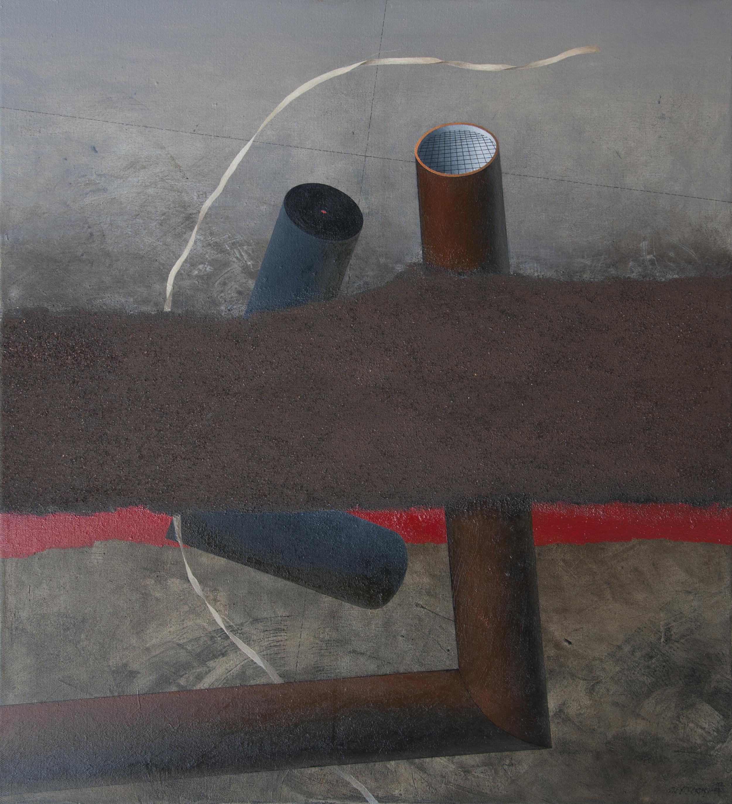 Outlook, oil on canvas, 120x110 cm, 2012